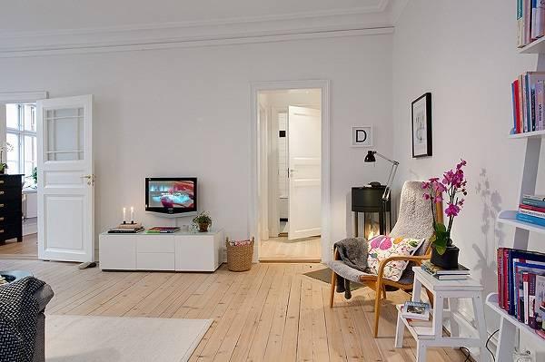 Как создать уют и расширить пространство – скандинавский стиль в маленькой квартире