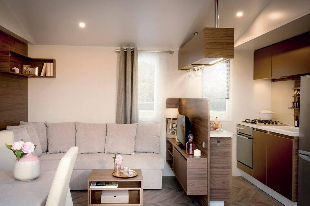 Дизайн кухни гостиной 17 кв. м фото с зонированием