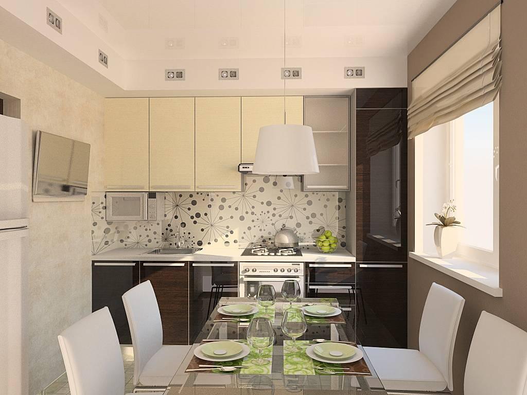 Кухня 9 кв. м: современные идеи дизайна и планировки интерьера (+60 фото)
