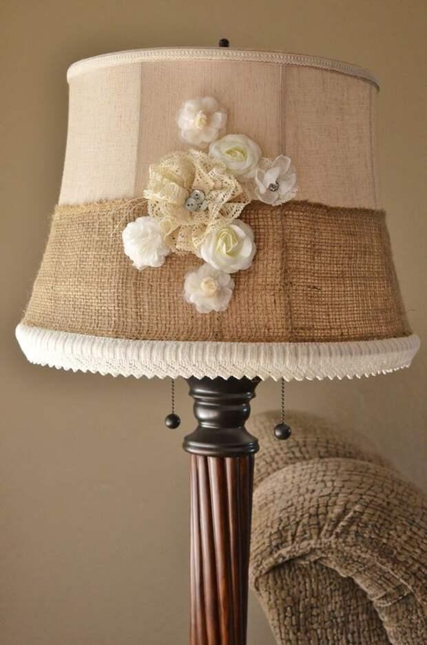 Абажур для настольной лампы:  фото идеи красивых самодельных абажуров