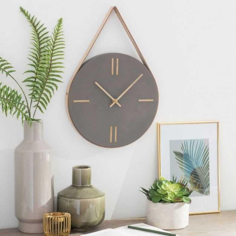 Часы в интерьере кухни: оригинальные настенные кухонные часы (20 фото)