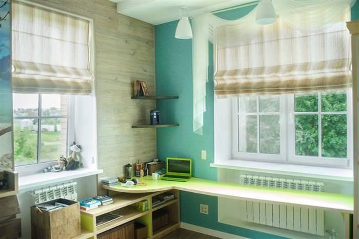 Занавески в детскую комнату, принципы грамотного выбора с фото