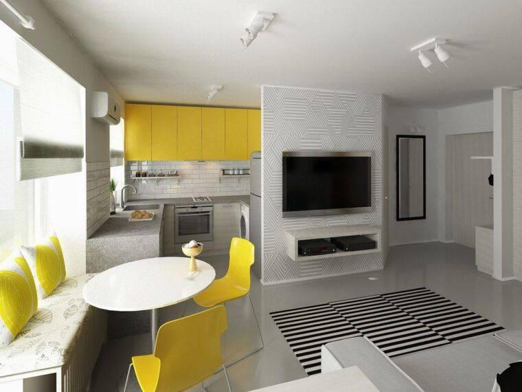 Как обустроить дизайн маленькой квартиры: 14 лучших проектов