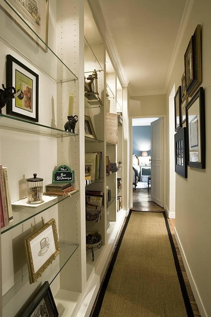 Дизайн длинного и узкого коридора