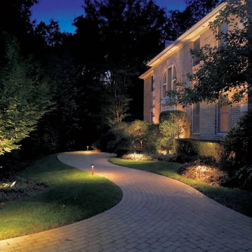 Делаем освещение участка и дачи вокруг дома – чтобы было экономично и красиво. | сайт о саде, даче и комнатных растениях.