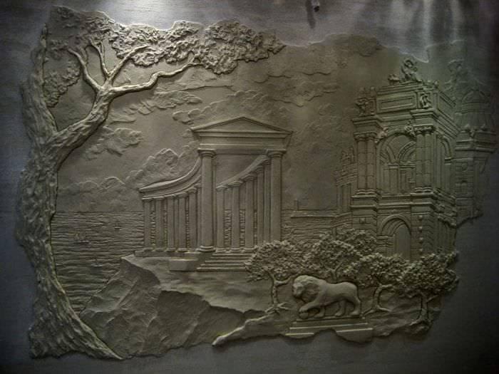 Лепнина на стене своими руками для начинающих мастер класс: эскизы из девера