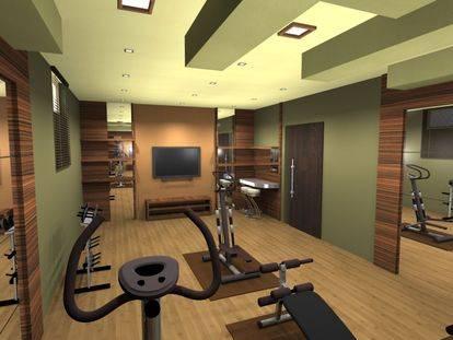 Как сделать частный спортзал в частном доме своими руками в цоколе или подвале: обзор +видео дизайна и интерьера