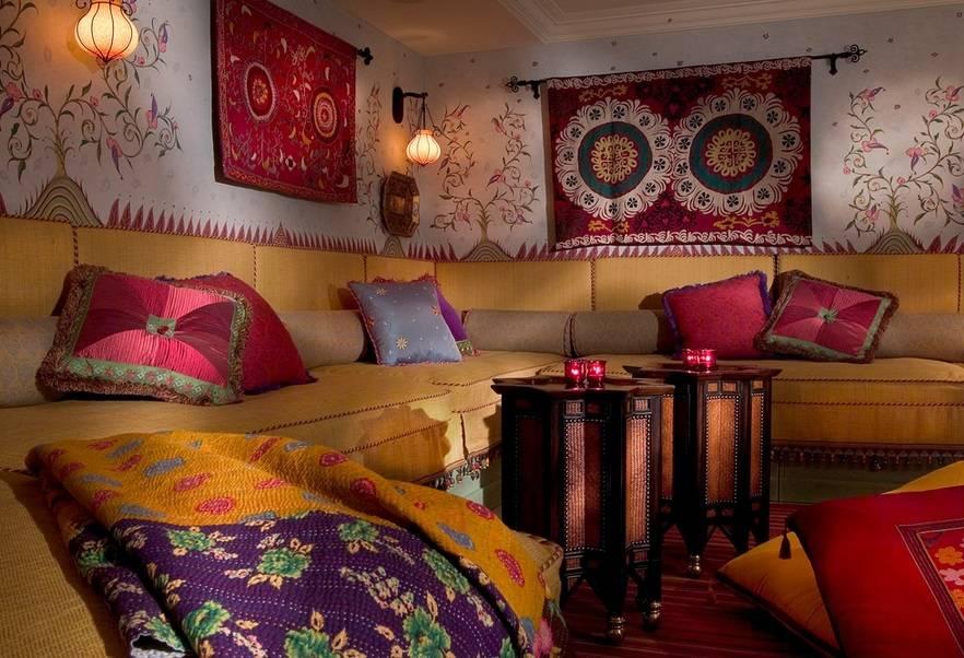 Интерьеры махараджей: создаем утонченный восточный стиль в интерьере - «стили»