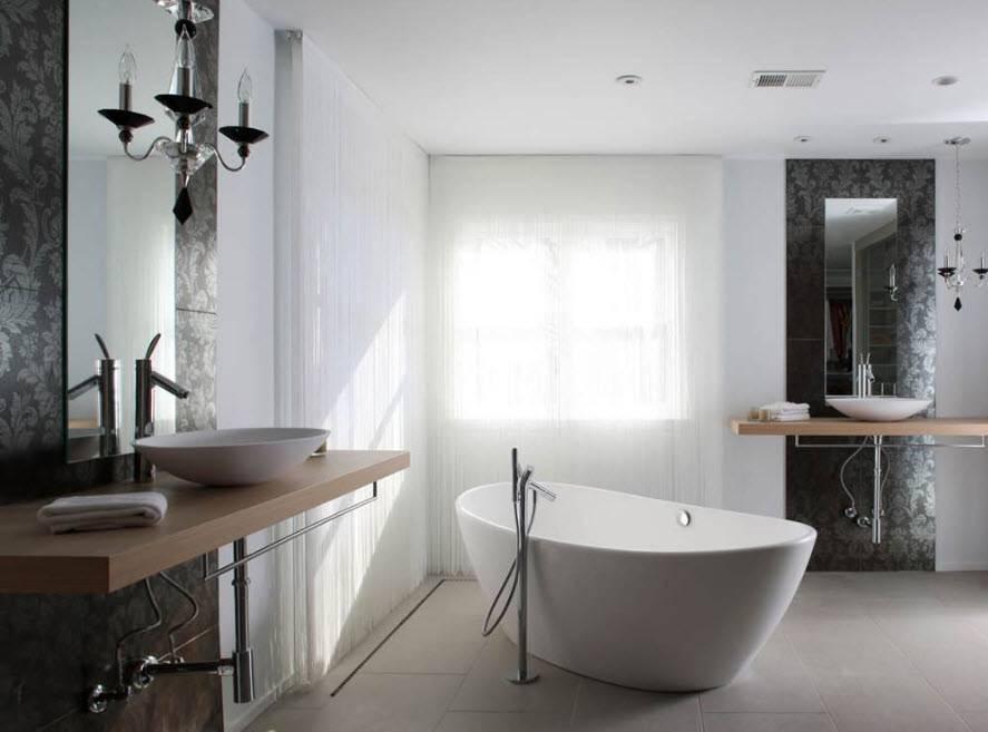 Угловая ванна: 100 фото идей в интерьере, виды и новинки 2019