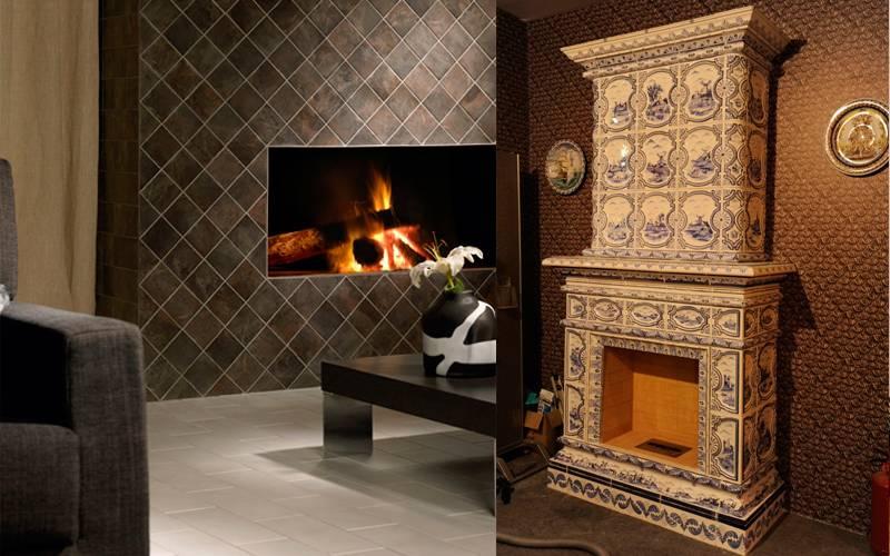 Какую плитку лучше использовать для облицовки печей и каминов ☛ советы строителей на domostr0y.ru