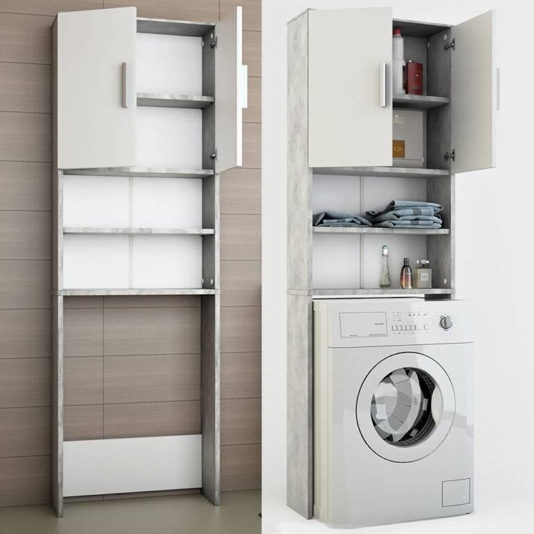 Как сделать шкаф для стиральной машины своими руками