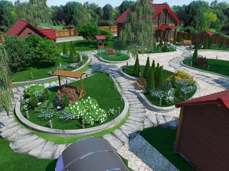 Благоустройство дачного участка: как правильно сделать своими руками озеленение вокруг загородного дома