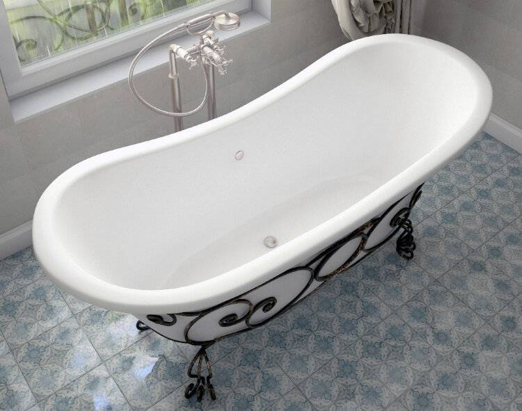Преимущества и недостатки ванн из искусственного литьевого мрамора