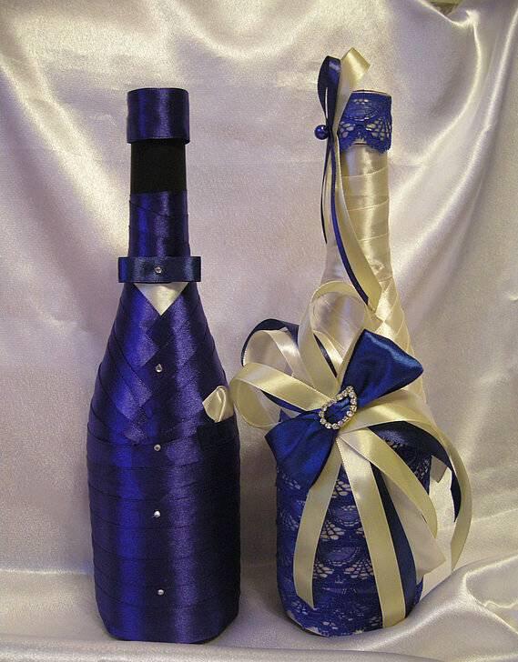 Декор бутылок: как украсить бутылку своими руками