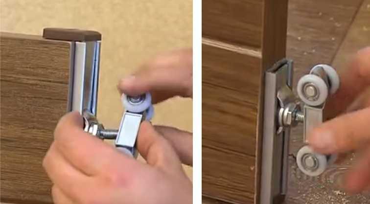 Как правильно установить раздвижную межкомнатную дверь своими руками