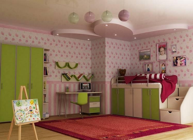 Маленькая детская комната: планировка, зонирование и выбор мебели (50 фото)