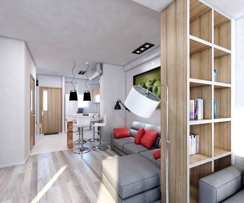 Квартира-студия 30 кв. м. — преимущества планировки квартиры-студии. варианты зонирования, расстановки мебели (фото + видео)