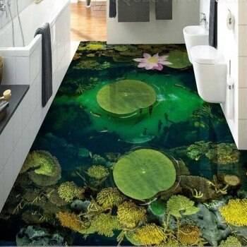 Наливной пол на кухне (30 фото интерьеров): матовый, глянцевый, 3d, цены, монтаж