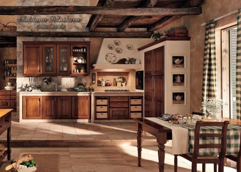 Кухня в стиле кантри — смотрите на каких чертах должен акцентироваться кантри стиль и лучшие примеры интерьеров на фото!
