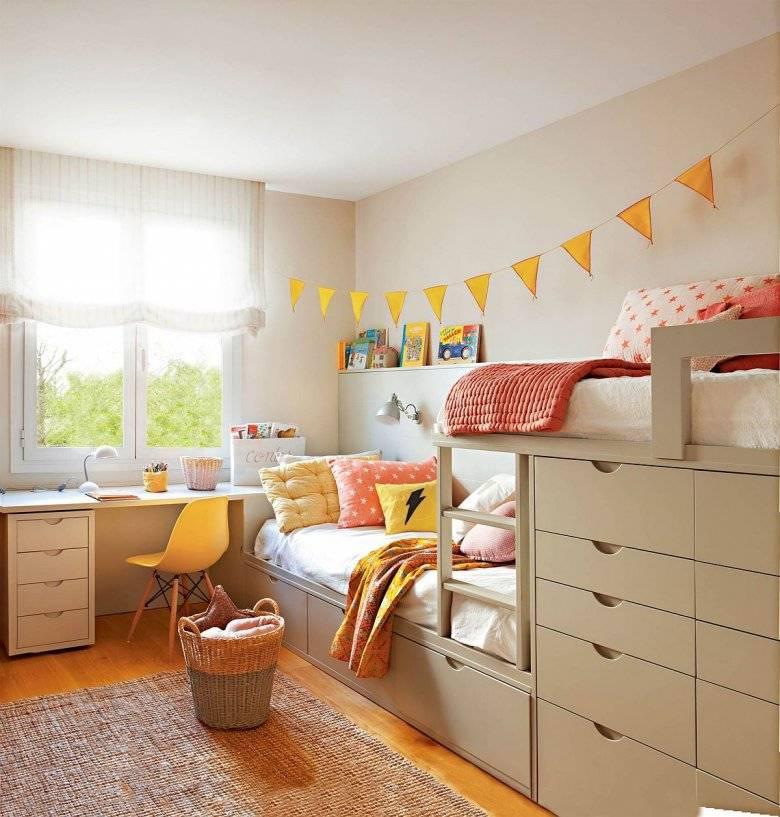 Планировка детской комнаты — основные варианты оригинального расположения основных элементов интерьера (110 фото и видео)