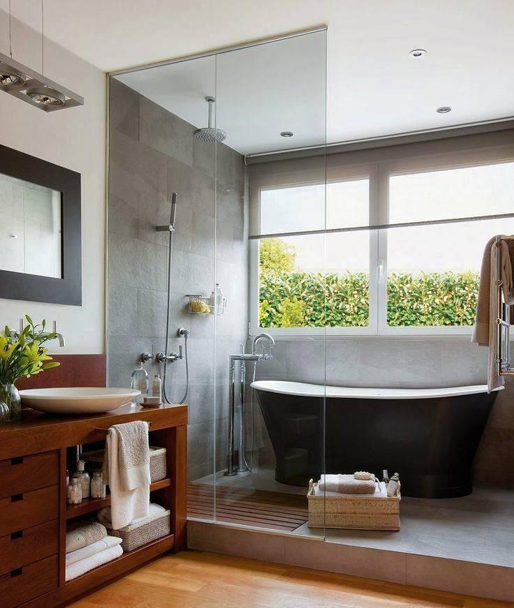Современные ванные комнаты: идеи, советы и готовые проекты (65 фото)   дизайн и интерьер ванной комнаты