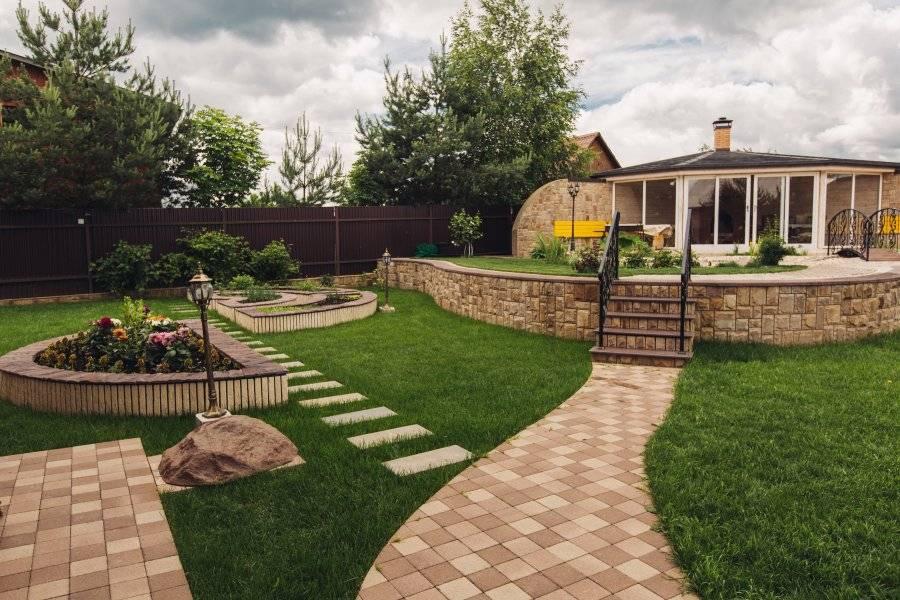 Способы озеленения и благоустройства территорий загородного дома