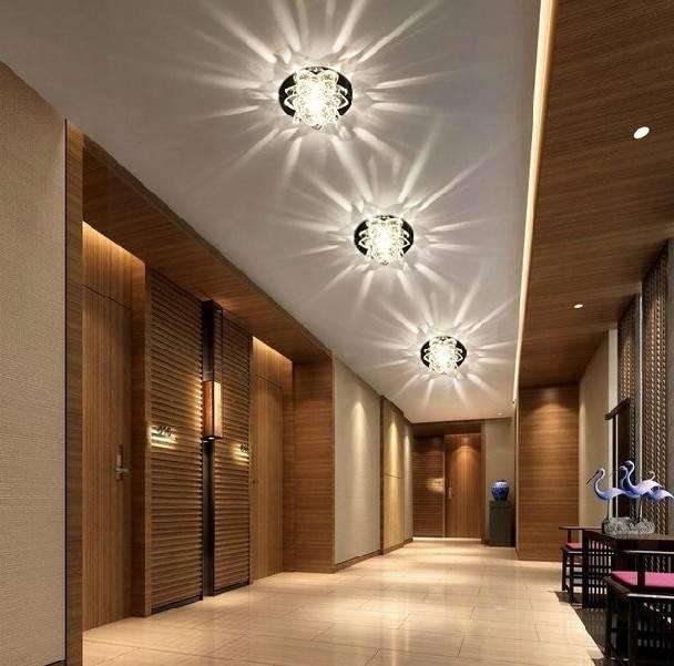 Выбираем и настраиваем освещение в коридоре