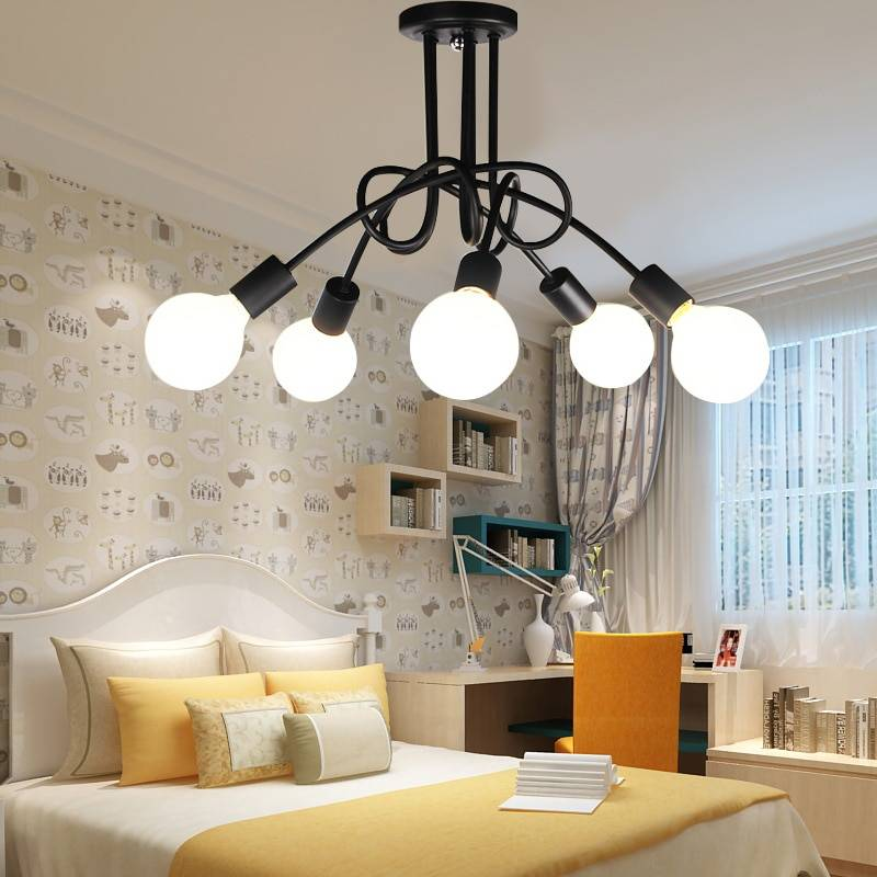 Освещение в спальне - инструкция как выбрать и организовать освещение для спальни