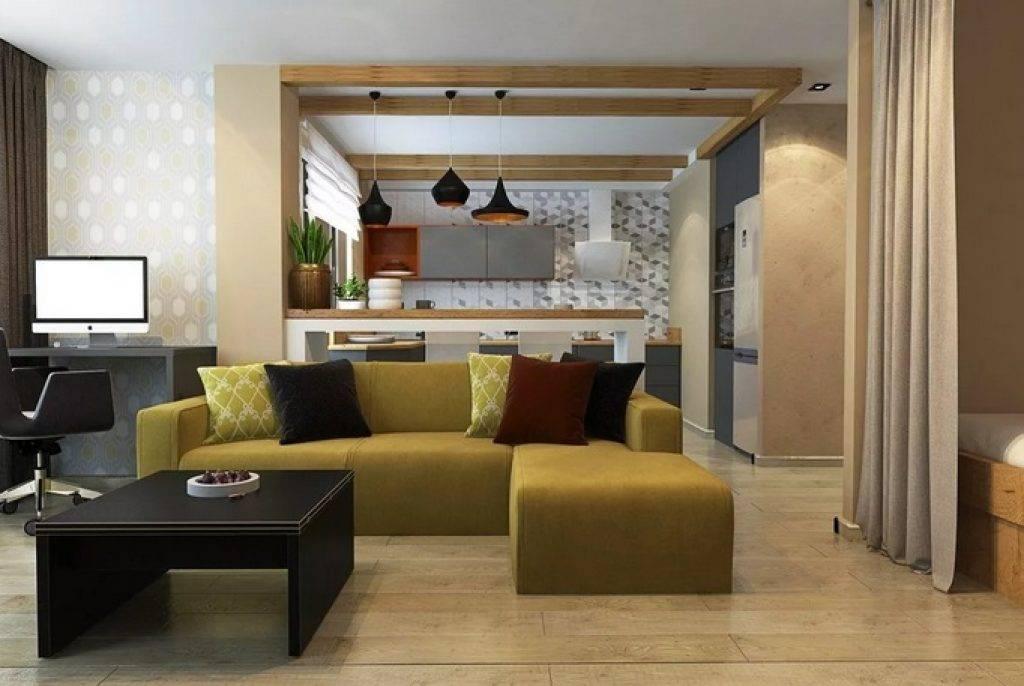 Дизайн кухни-гостиной 30 кв. м: как не упустить из вида важные нюансы