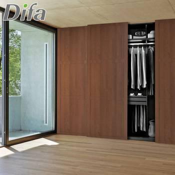 Разновидности раздвижных дверей для шкафа-купе, стандартные габариты