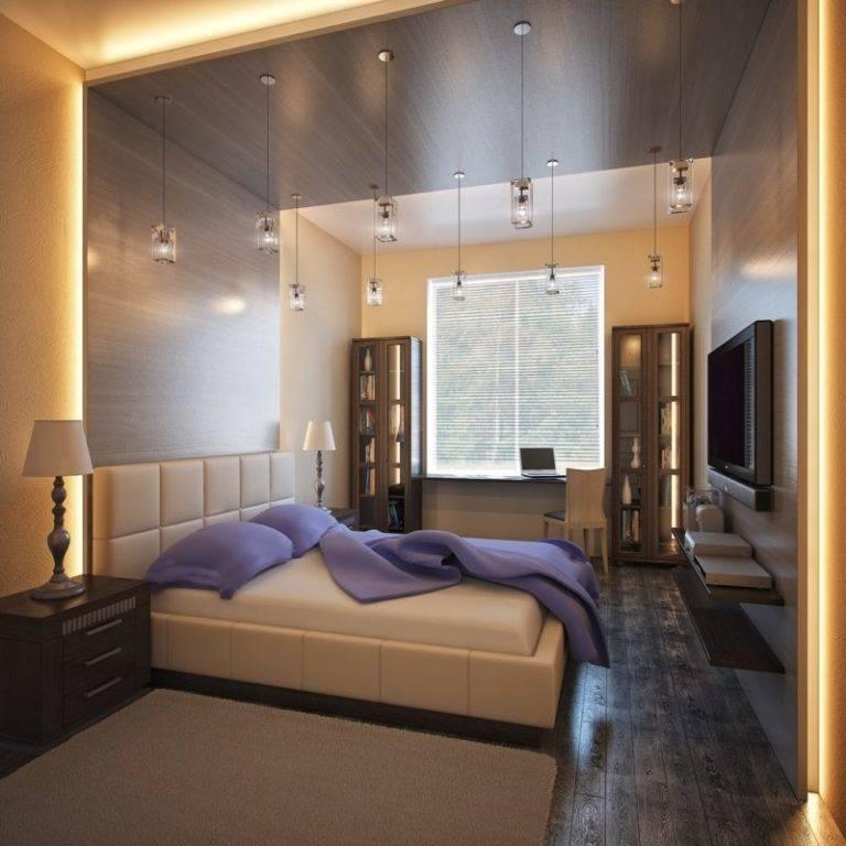 Дизайн спальни площадью 13 кв, м