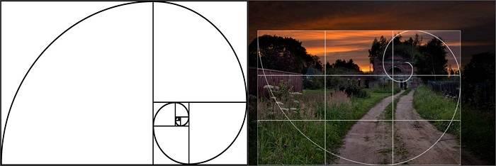 Золотое сечение в дизайне: правило и 50 примеров на фото
