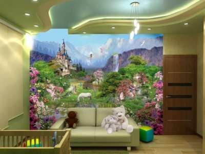 Фотообои в интерьере комнат: виды, сочетания, выбор тематики, цвета и стиля