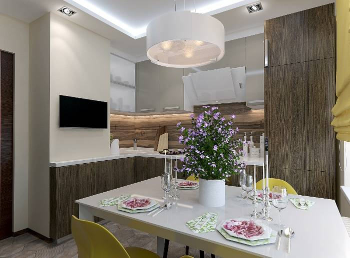 Дизайн интерьера кухни - 70 фото, оригинальные идеи ремонта и отделки 2019