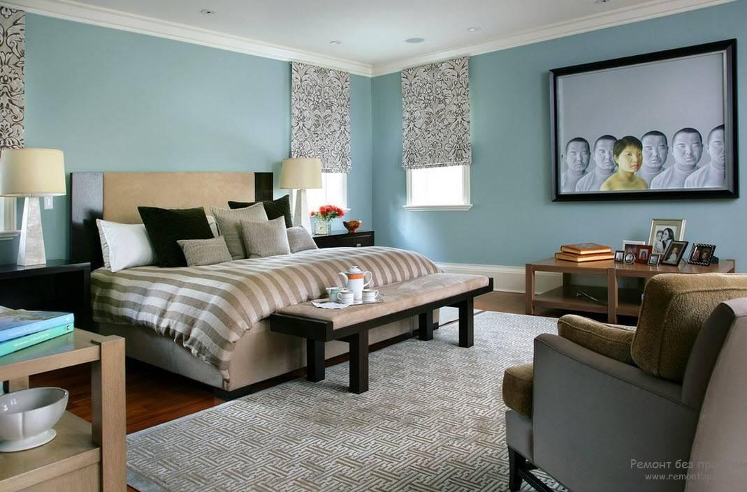 Выбор цвета стен в гостиной: более 30 вариантов интерьера