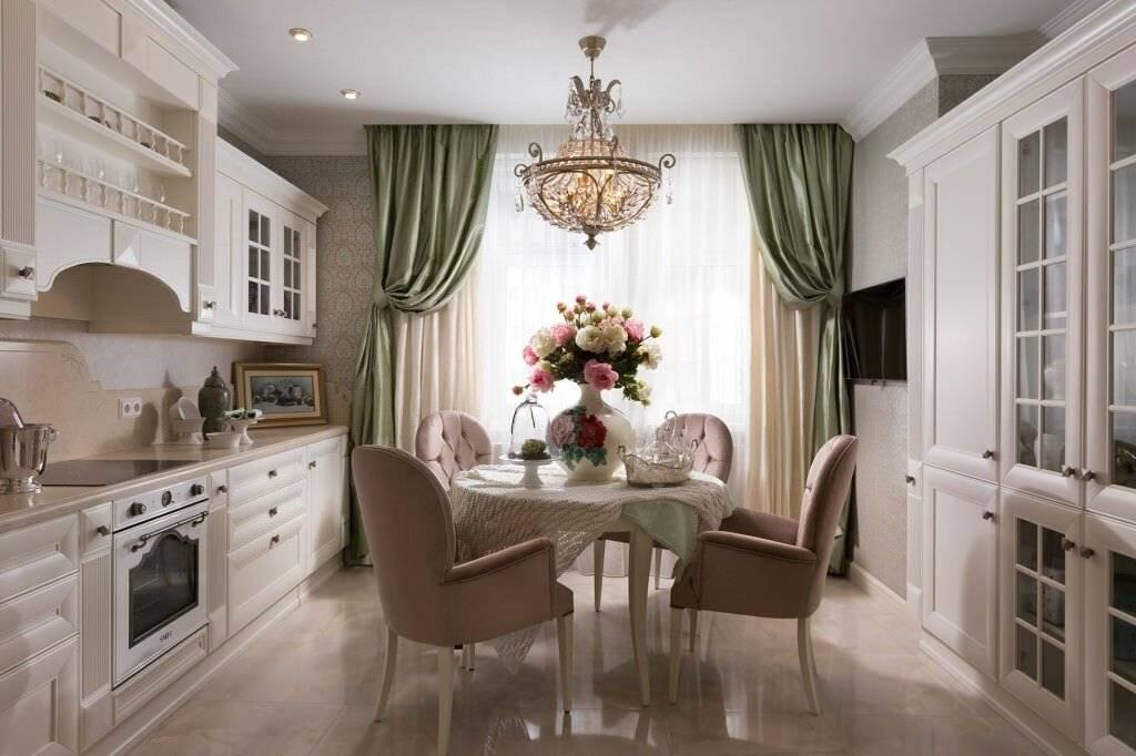Дизайн кухни в классическом стиле: 70+ фото реальных интерьеров