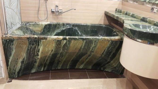 Ванная в зеленом цвете - 85 фото лучших сочетаний в интерьере