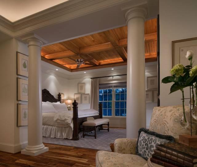 Колонны в интерьере дома: варианты дизайна с колоннами - smallinterior