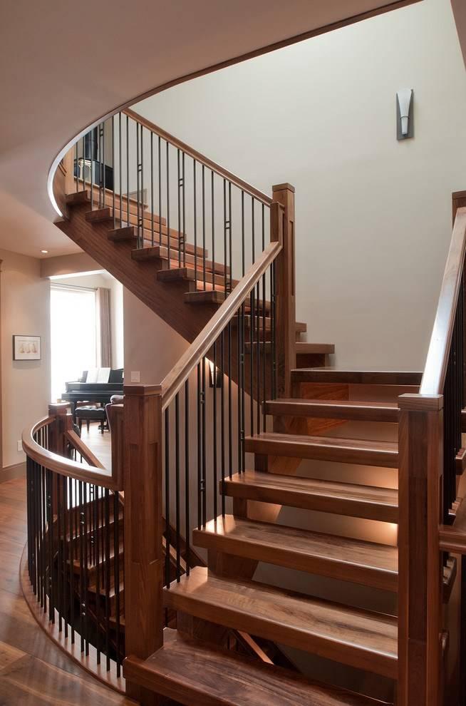 Лестница в доме: виды и идеи современного дизайна (40 фото)   дизайн и интерьер
