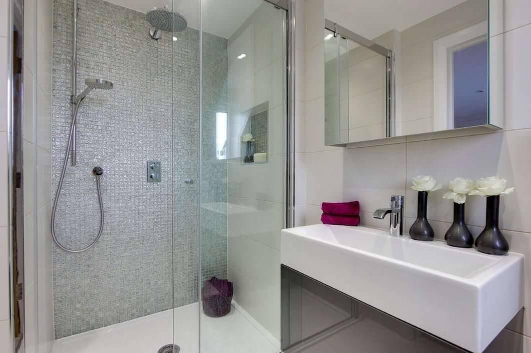 Ванная с душевой кабиной: топ-100 фото новинок дизайна и функциональной планировкиварианты планировки и дизайна