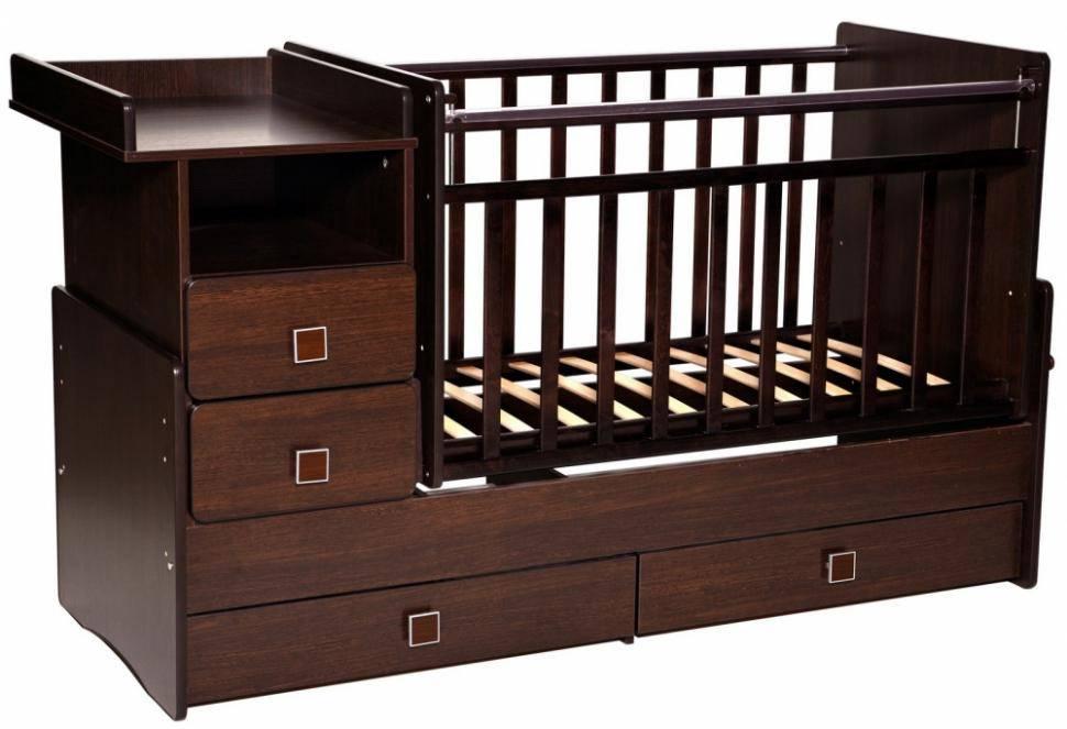 Детские кроватки: 110 фото новинок и советы по выбору функционального дизайна