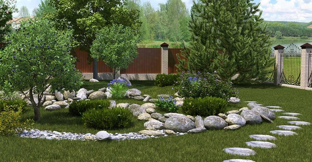 Описание стилей в ландшафтном дизайне - сад и клумба