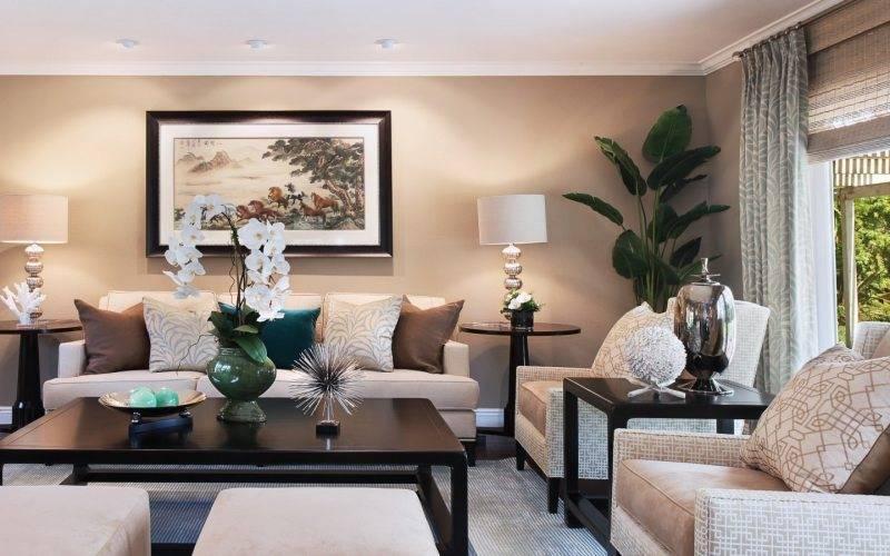 Цвет в интерьере гостиной: модные оттенки с обзором красивых цветовых комбинаций (фото готовых дизайн проектов)