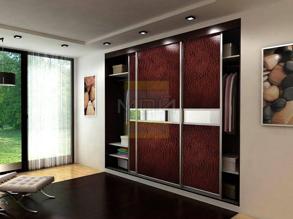 Шкаф-купе в интерьере спальни, гостиной и прихожей