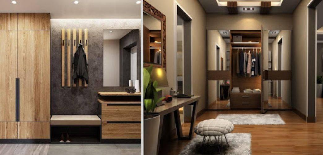 Прихожая гостиная: зонирование, совмещенный дизайн - 33 фото