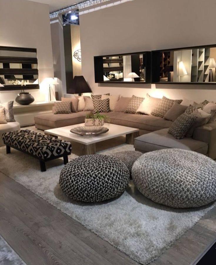 Интерьер гостиной в частном доме   красивые сочетания, варианты дизайна и необычные решения дизайнеров (165 фото примеров)