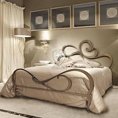Кровать в интерьере - фото примеров