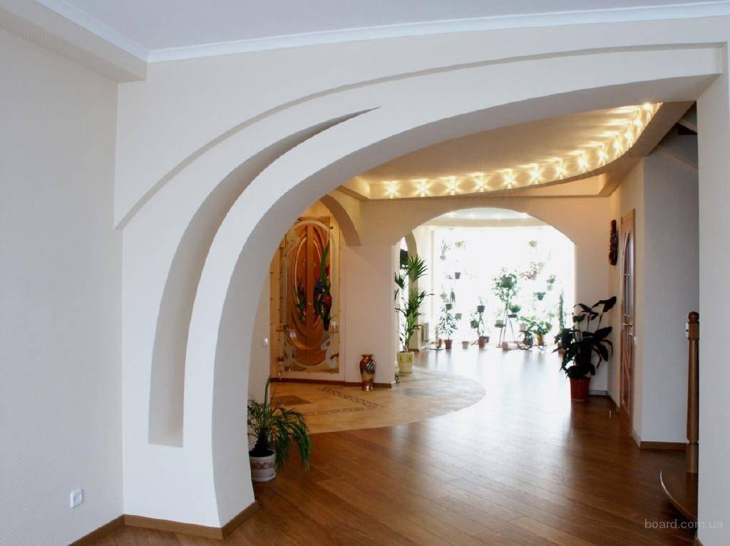 Арки из гипсокартона в дизайне интерьеров