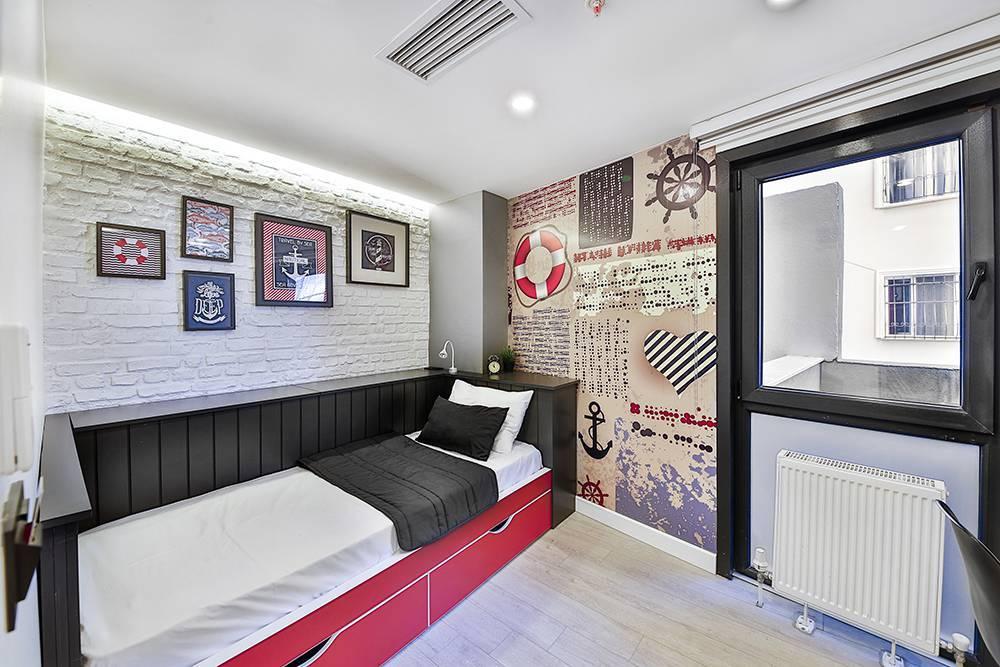 Как не опустить руки и сделать шикарный дизайн комнаты 12 кв м
