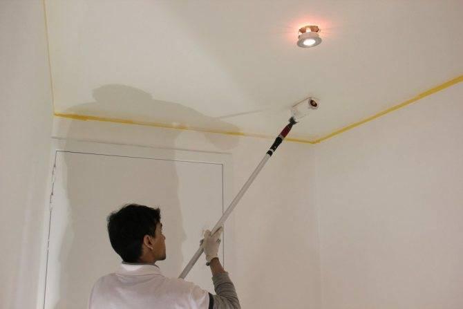 Чем покрасить потолок на кухне: видео-инструкция по окраске своими руками, какой краской лучше, фото чем покрасить потолок на кухне: видео-инструкция по окраске своими руками, какой краской лучше, фото